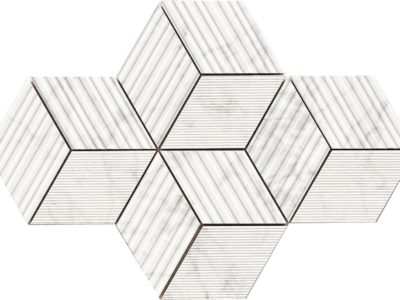 cube apuanian white