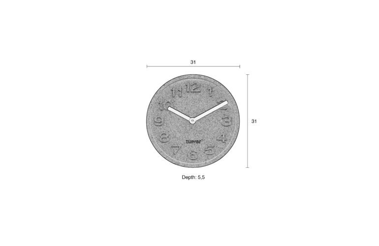 Cork-time-clock-size