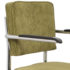 Ridge-Kink-Rib-armchair-green-detail
