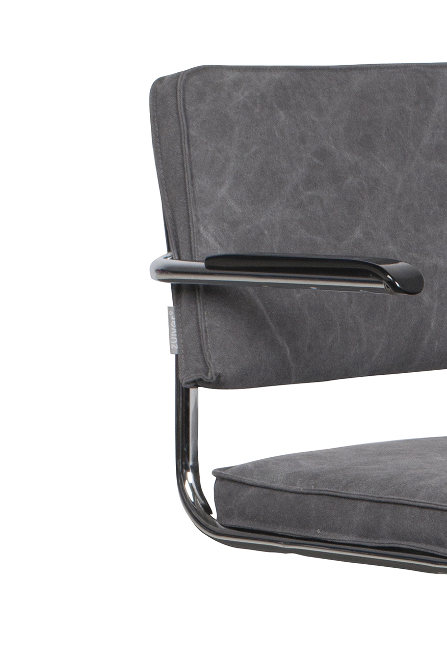 Ridge-Vintage-armchair-mediocre-grey-detail