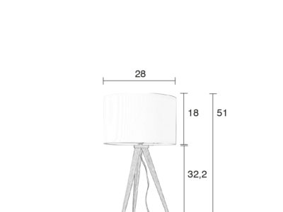 Tripod-Wood-table-lamp-size