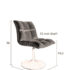 Mini-Bar-chair-dimensions