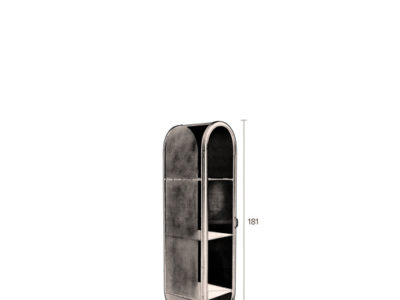 Oval-cabinet